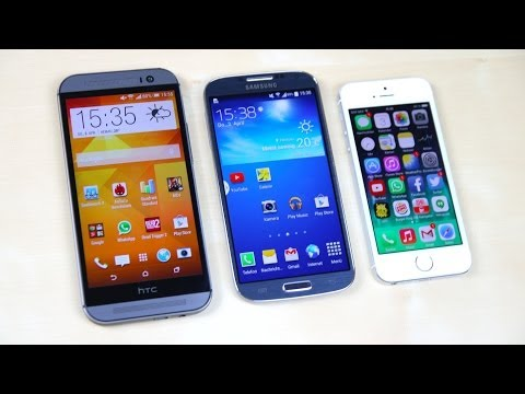 iphone 6 galaxy S5 htc one m8