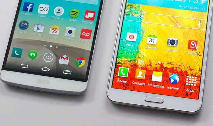 LG G3 Samsung