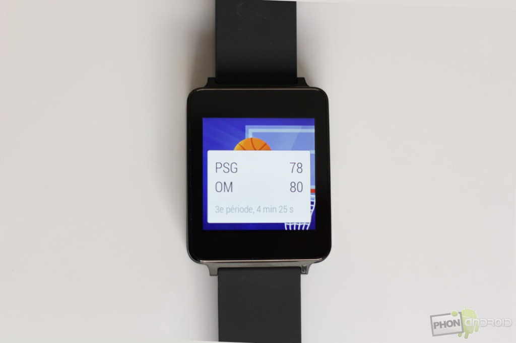 lg g watch notifications