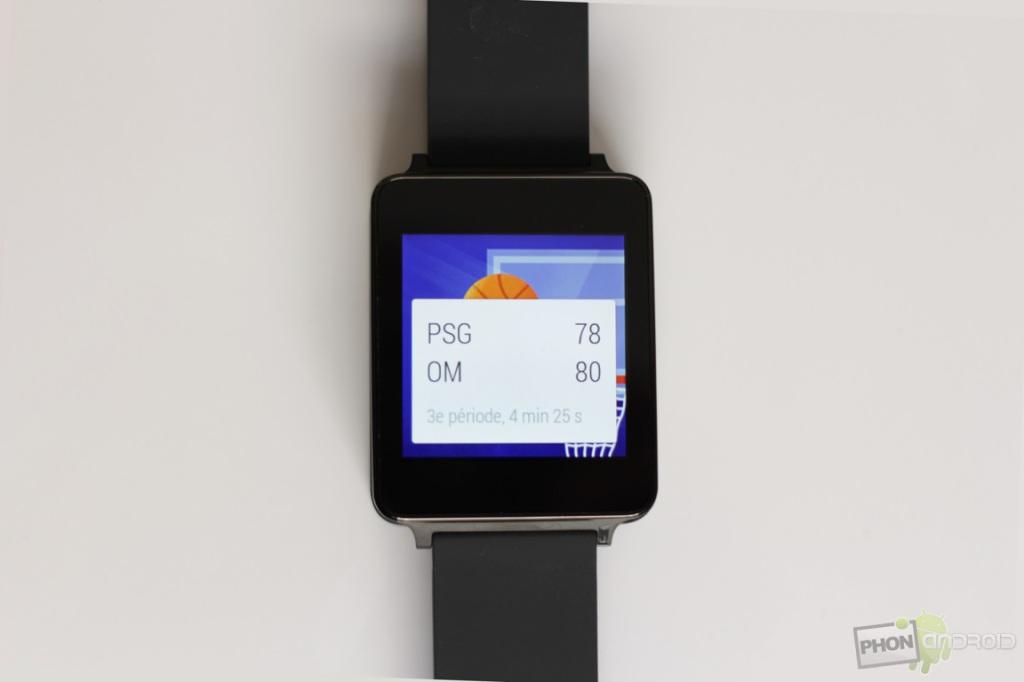 lg g watch notifications