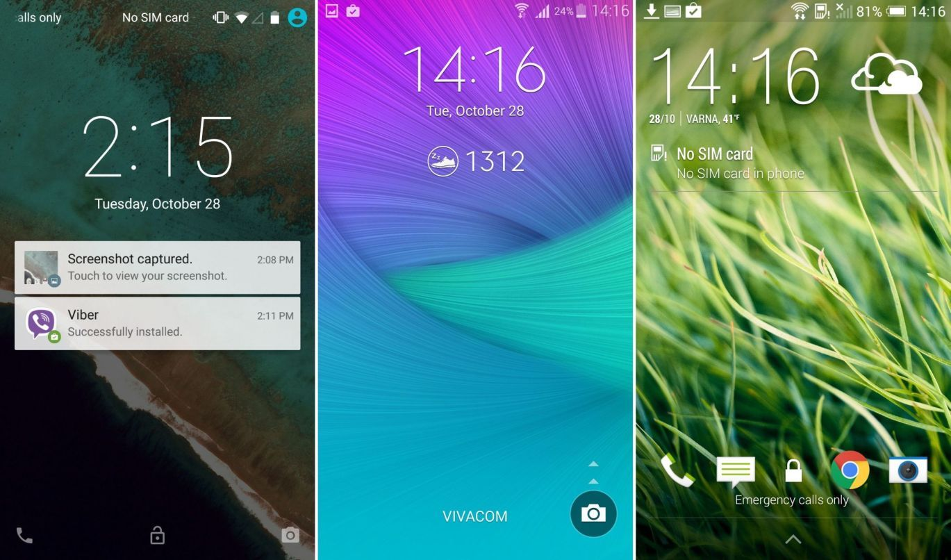 Android Lollipop vs TouchWiz vs HTC Sense vs LG vs Sony Xperia