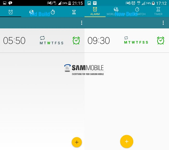 mise à jour Android 5.0 Galaxy S5