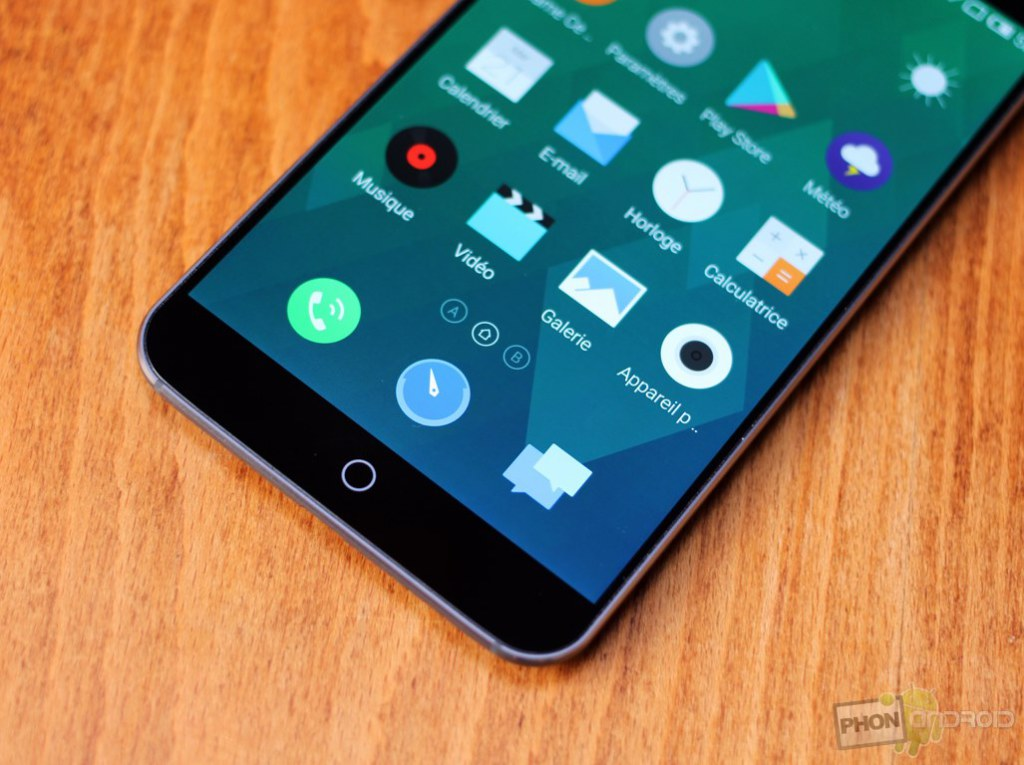 meizu mx4 bouton home