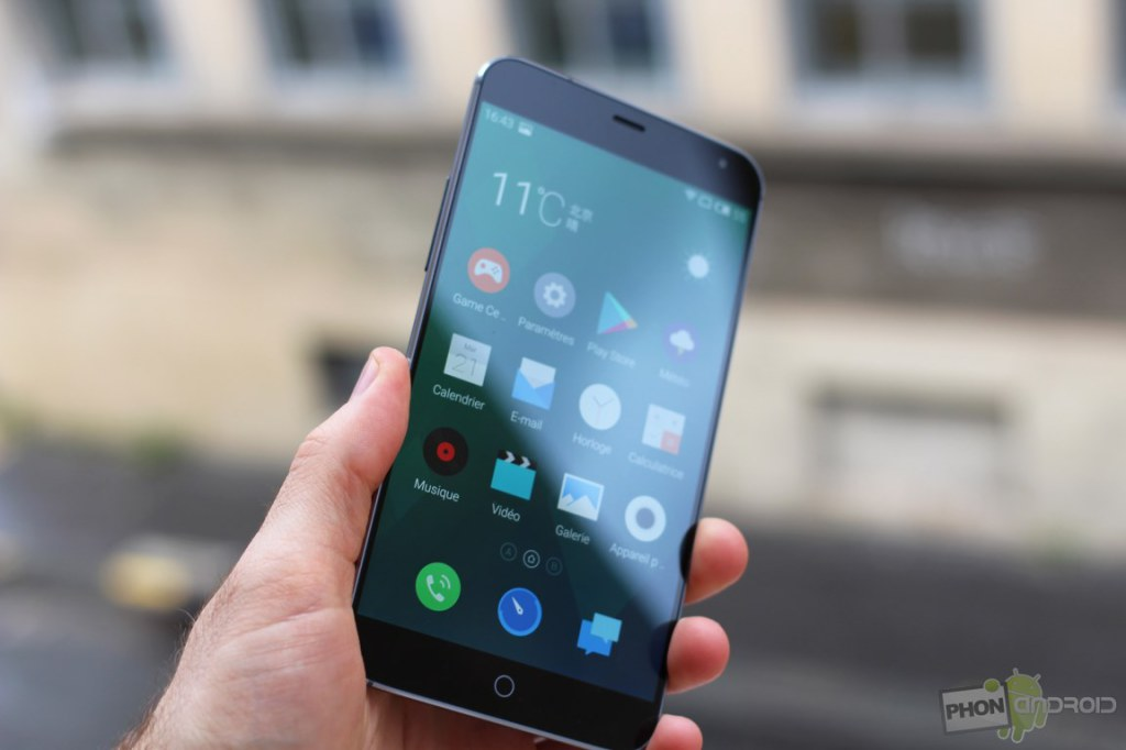 meizu mx4 luminosite ecran