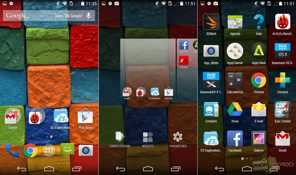 moto x 2014 interface