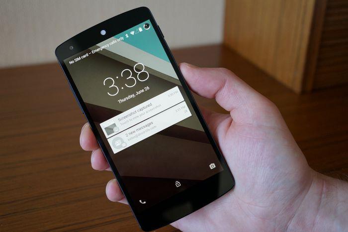 Nexus 5 Android L