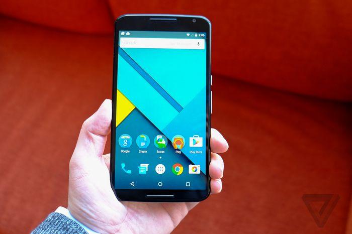 dimensions du Nexus 6