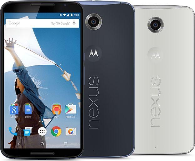 fonctionnalités du Nexus 6