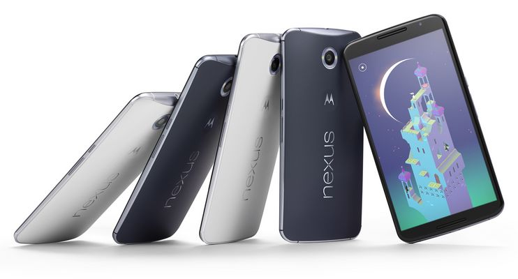 nexus 6 disponible Europe 18 novembre