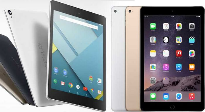 nexus 9 ipad air 2 concurrence