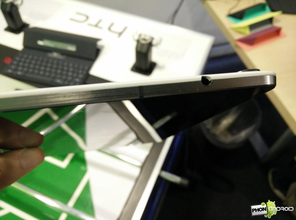 Nexus 9 prise jack