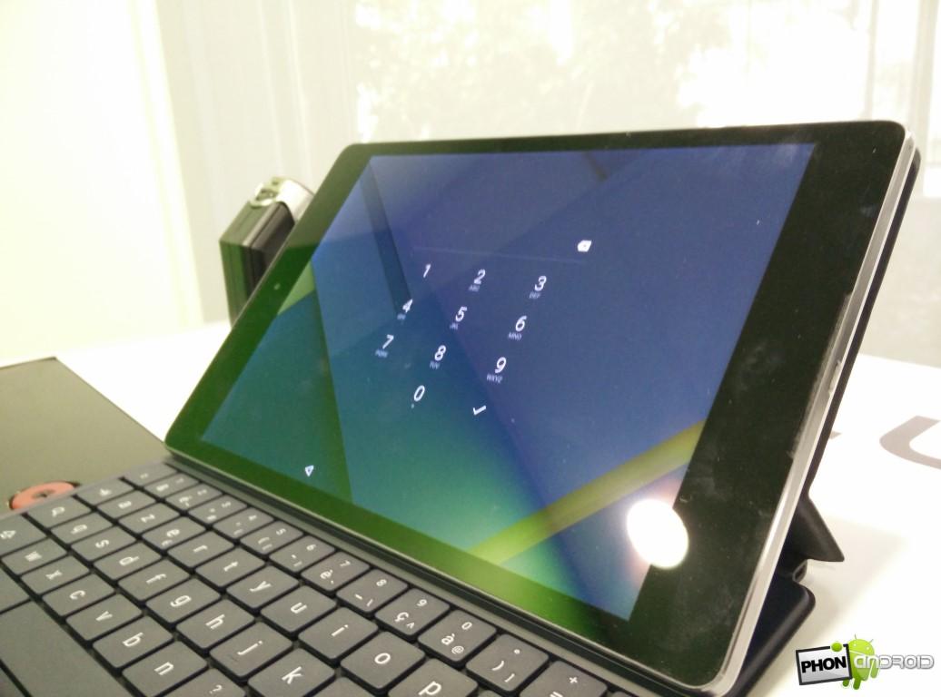 Nexus 9 protection clavier