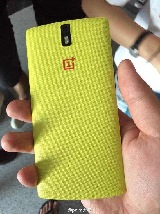 OnePlus One en jaune
