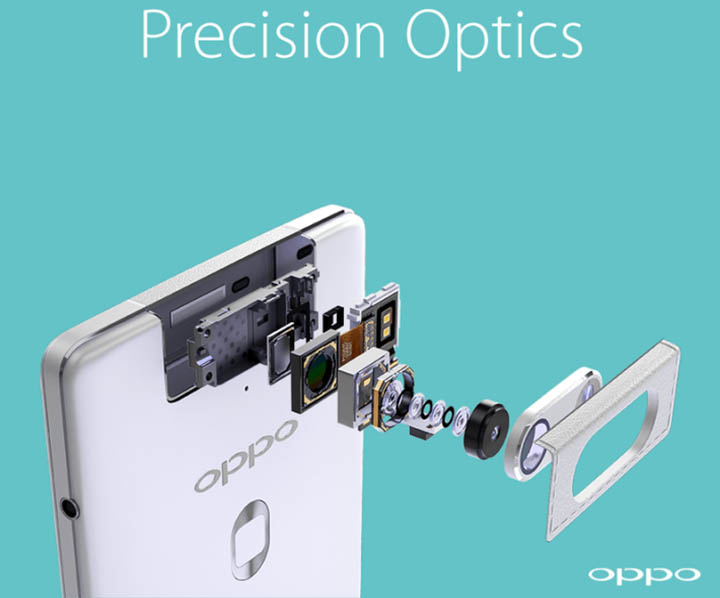 oppo n3 camera rotative automatise