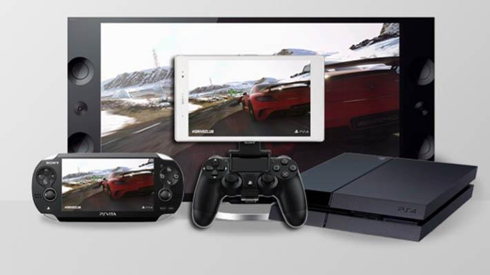 PS4 remote Play Xperia Z2