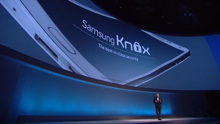 samsung knox securite