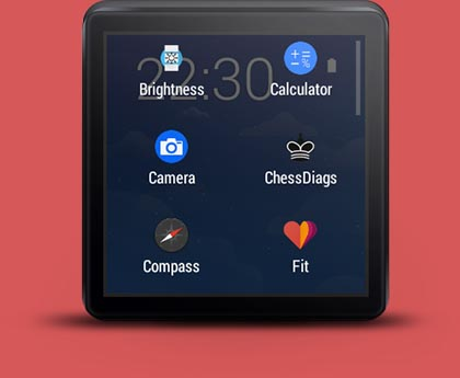 selection widget wear mini launcher