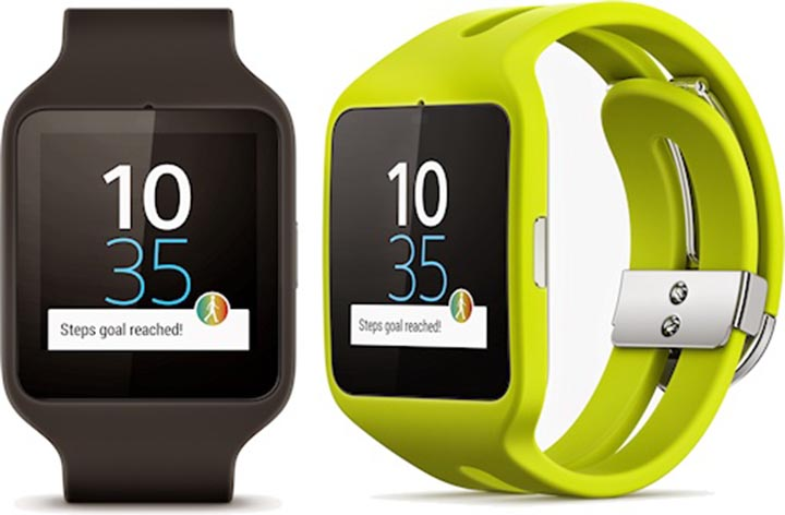 sony smartwatch 3 la montre connect e apparait. Black Bedroom Furniture Sets. Home Design Ideas