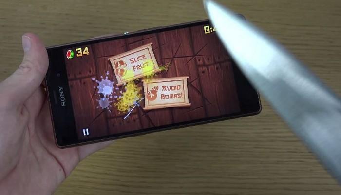 Sony Xperia Z3 Fruit Ninja