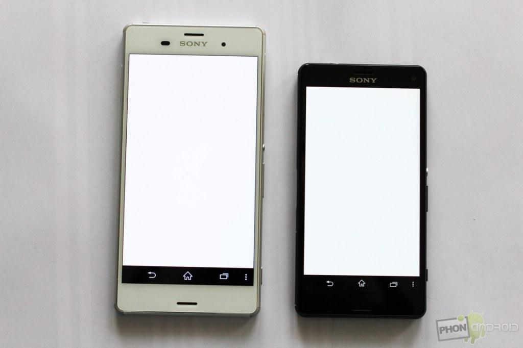 sony xperia z3 compact blanc