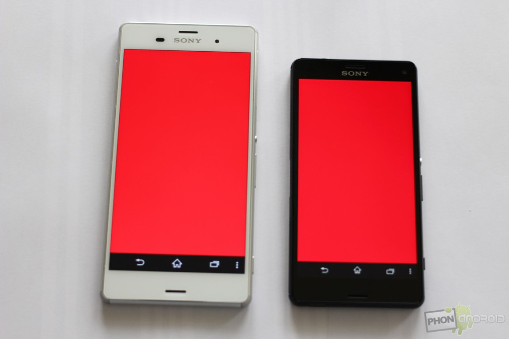 sony xperia z3 compact rouge