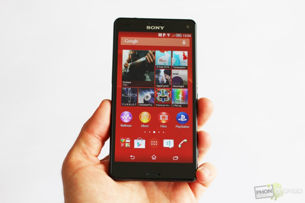sony xperia z3 compact test