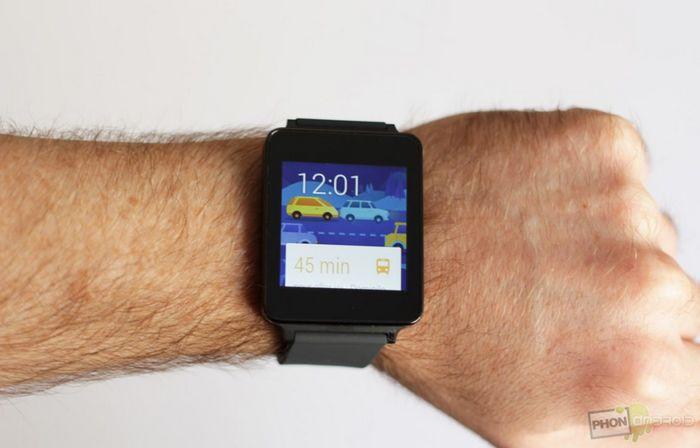 test LG G Watch