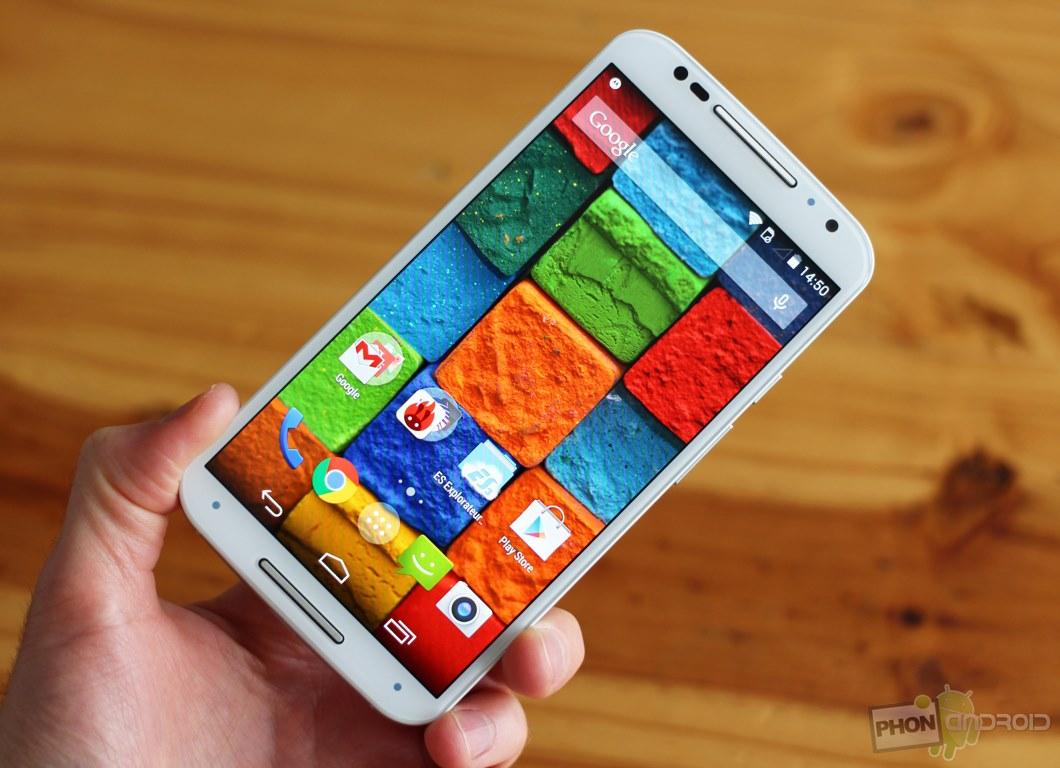Motorola Moto X 2014 : test du téléphone à l'empreinte Google