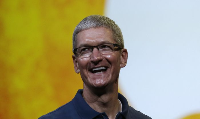 Tim Cook coming out