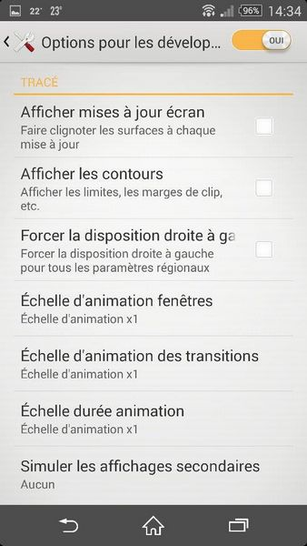 accélérer smartphone Android