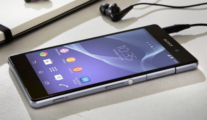 Sony Xperia Z2 mise à jour Android 4.4.4 KitKat