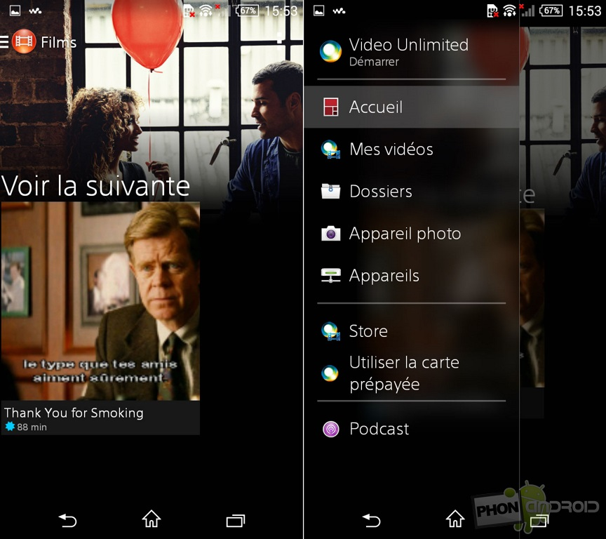 xperia z3 compact application films