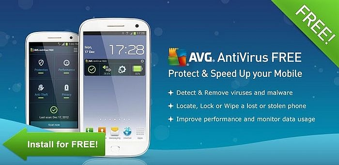 AVG antivirus android