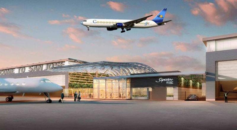 aéroport nasa terminal google