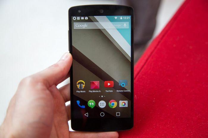 Android Lollipop sur les appareils Nexus