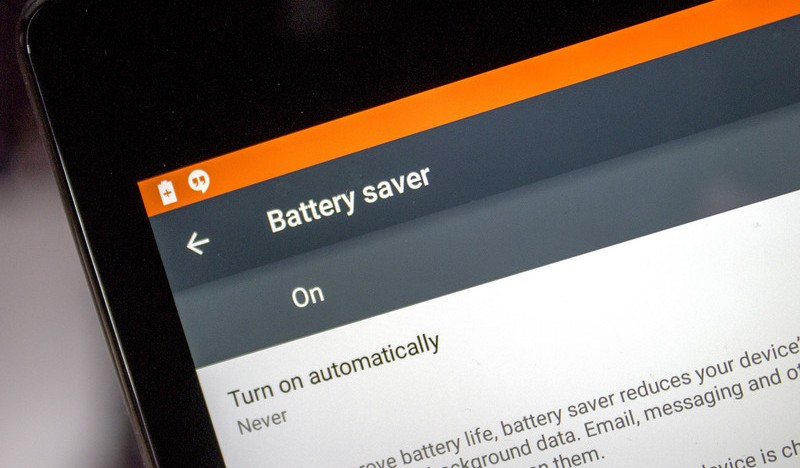 Battery Saver Android Lollipop