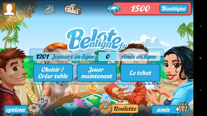 Belote En Ligne L Application De Belote Pour Android