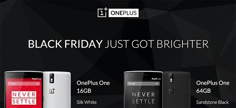 oneplus one disponible black friday
