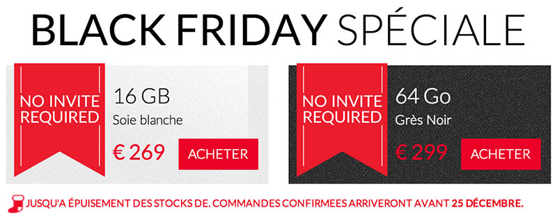oneplus one black friday sans invitation