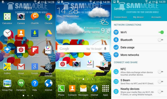 Galaxy S4 mise à jour Android 5.0 Lollipop