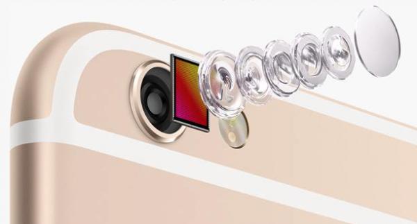 capteur photo iphone apple reflex