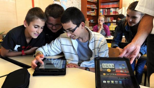 tablettes 2016 collège hollande