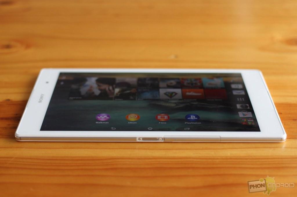 ecran xperia z3 tablet compact