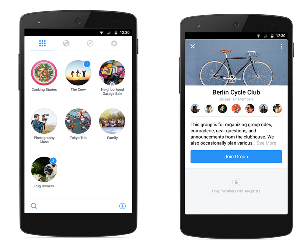 facebook groups retour groupes