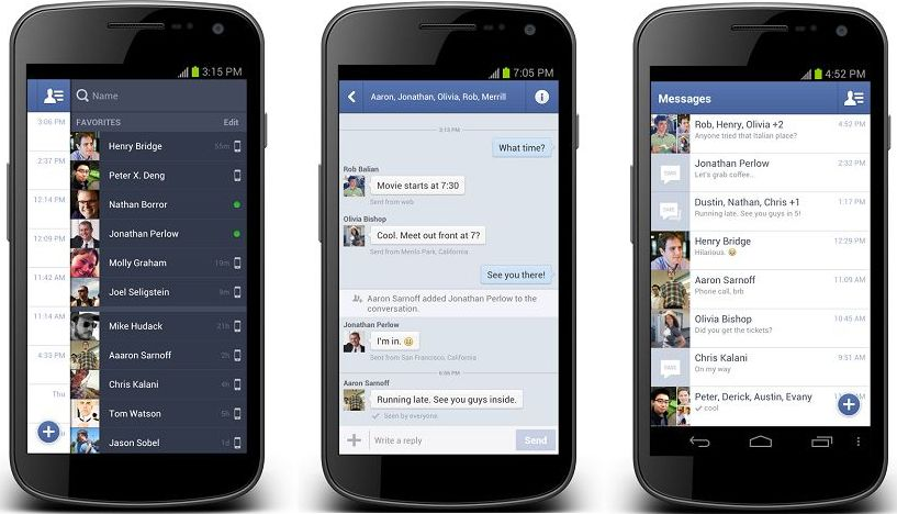 chat Facebook sans Messenger