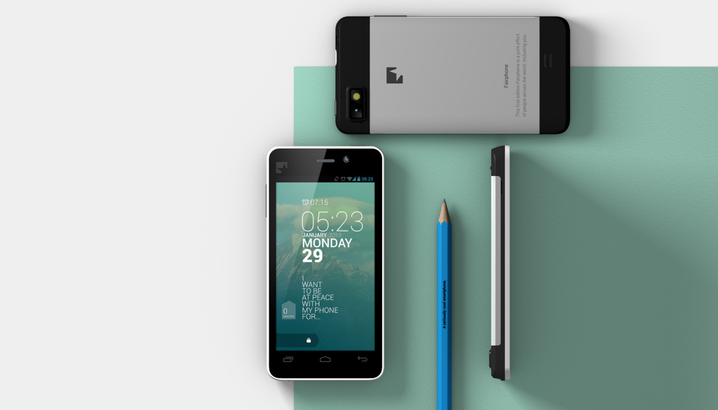 fairphone caracteristiques moyennes