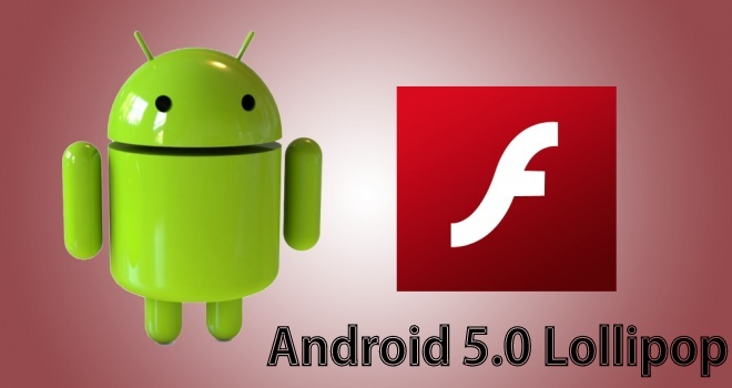 adobe flash android lollipop