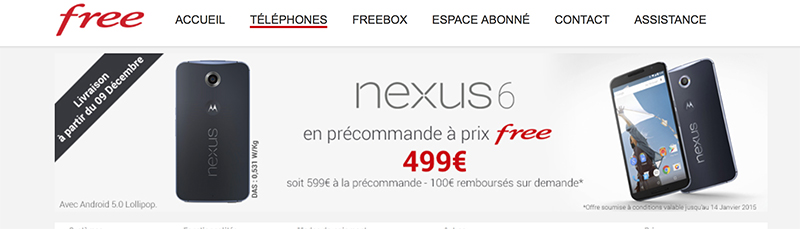 free odr nexus 6