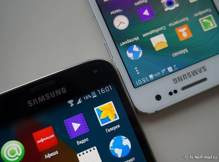 Galaxy A3 vs Galaxy S5