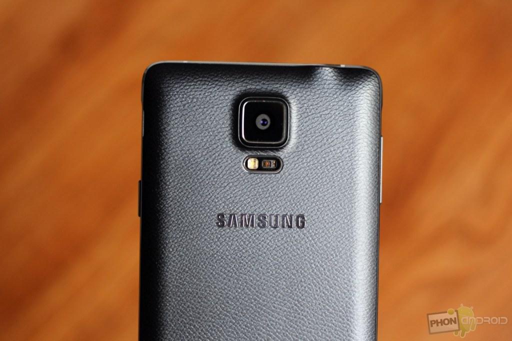 capteur photo du Galaxy Note 4